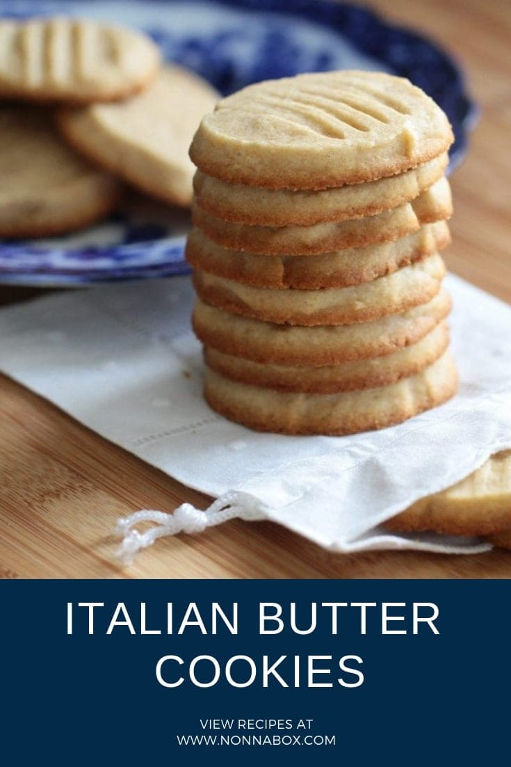 Authentic Italian Butter Cookies Recipe