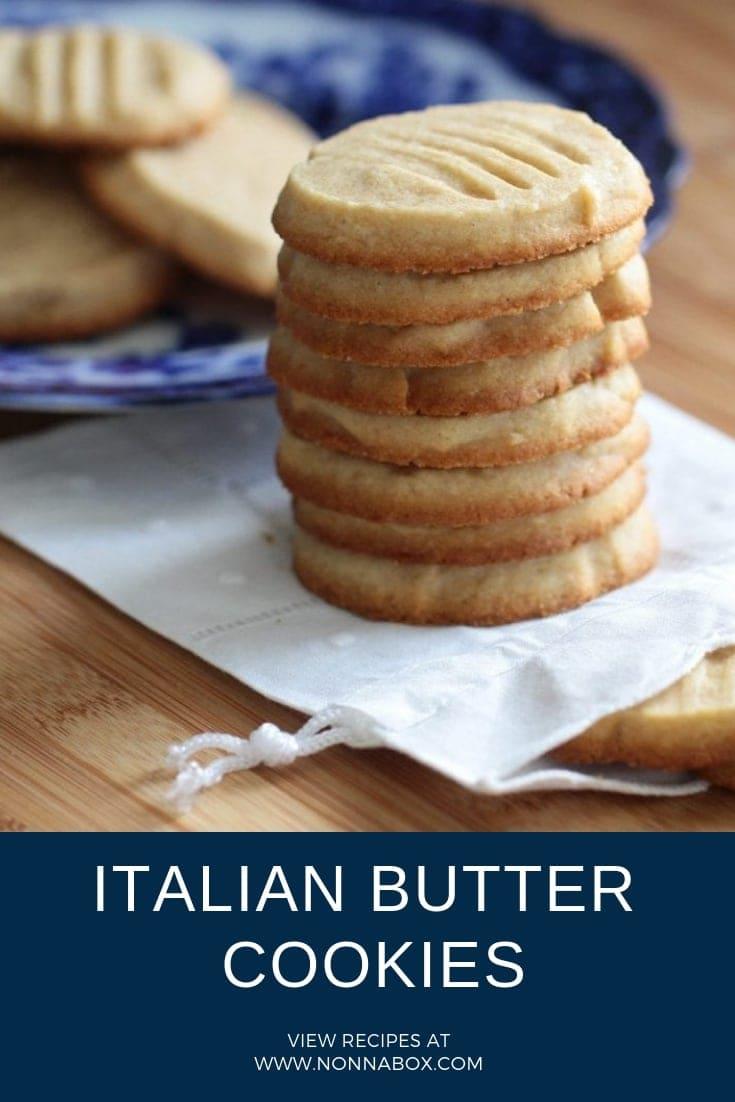 Authentic Italian Butter Cookies Recipe