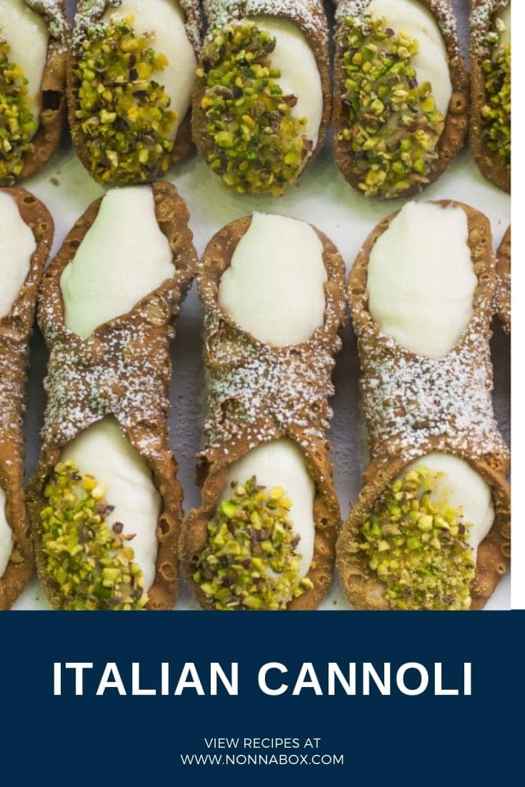 Authentic Italian Cannoli Recipe