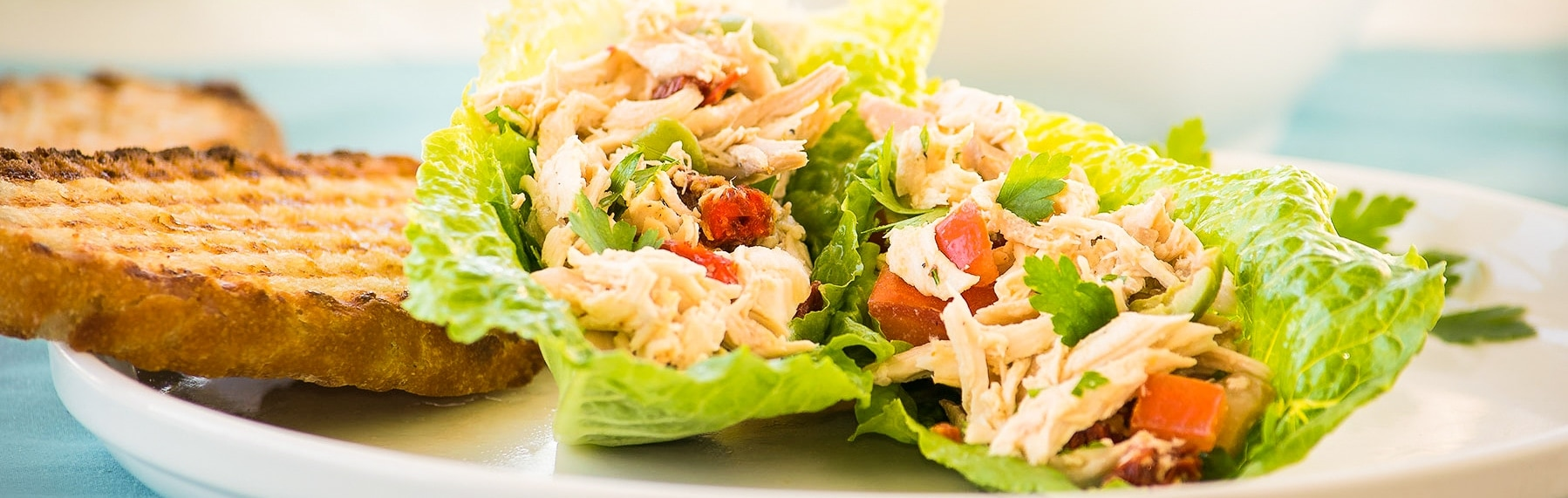 Italian Chicken Salad no mayo