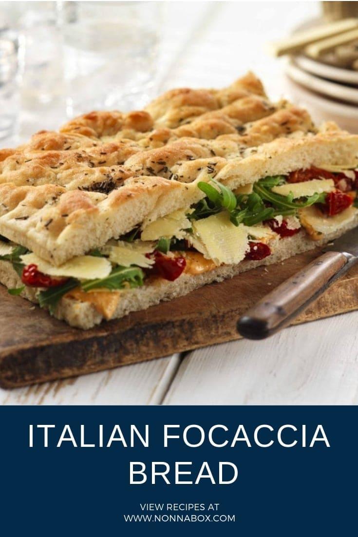 Authentic Italian Focaccia Bread Recipe