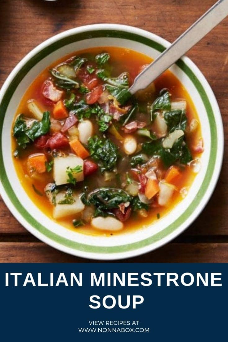 Authentic Italian Minestrone Soup Recipe