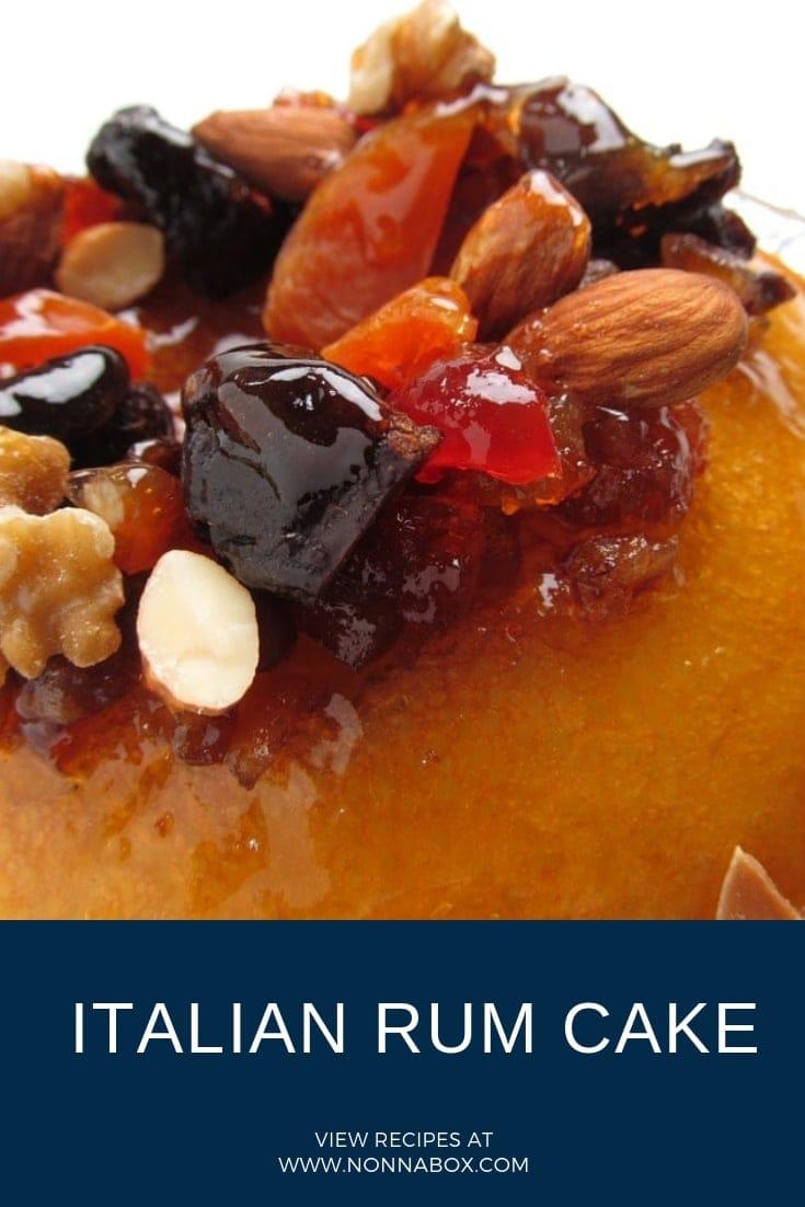 Authentic Italian Rum Cake Recipe