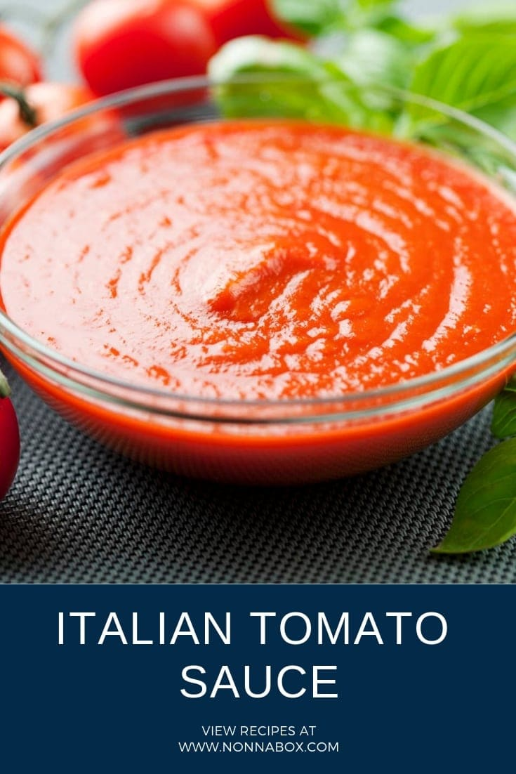Authentic Italian Tomato Sauce Recipe