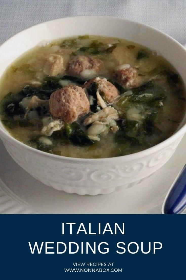 Authentic Italian Wedding Soup Recipe