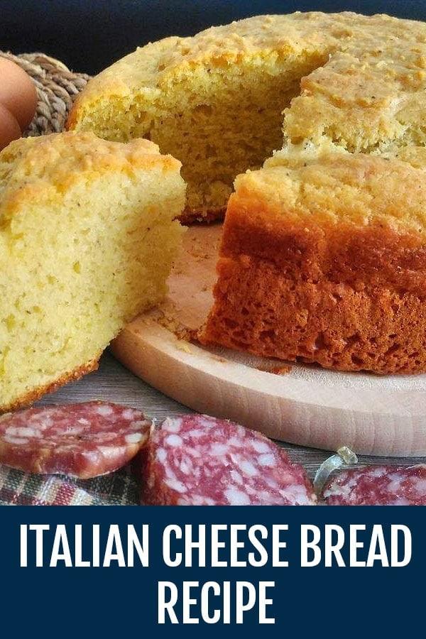 Italian Cheese Bread Recipe | Crescia al Formaggio | Pizza di Pasqua