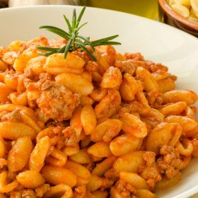 Malloreddus with Meat Sauce_Sardinian Gnocchetti Recipe