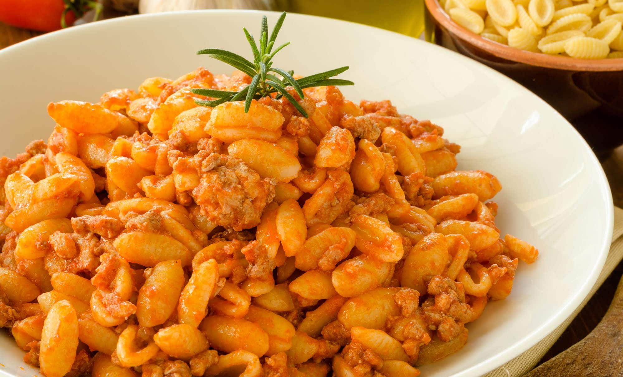 Malloreddus with Meat Sauce_Sardinian Gnocchetti Recipe