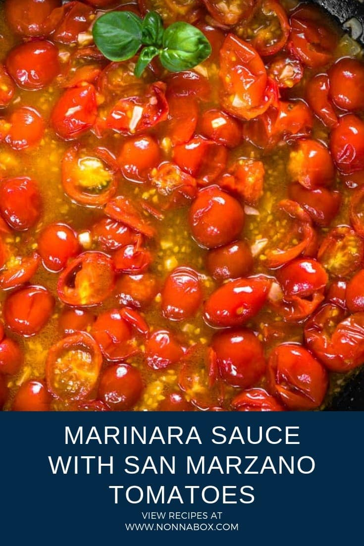 Marinara Sauce Recipe with San Marzano Tomatoes