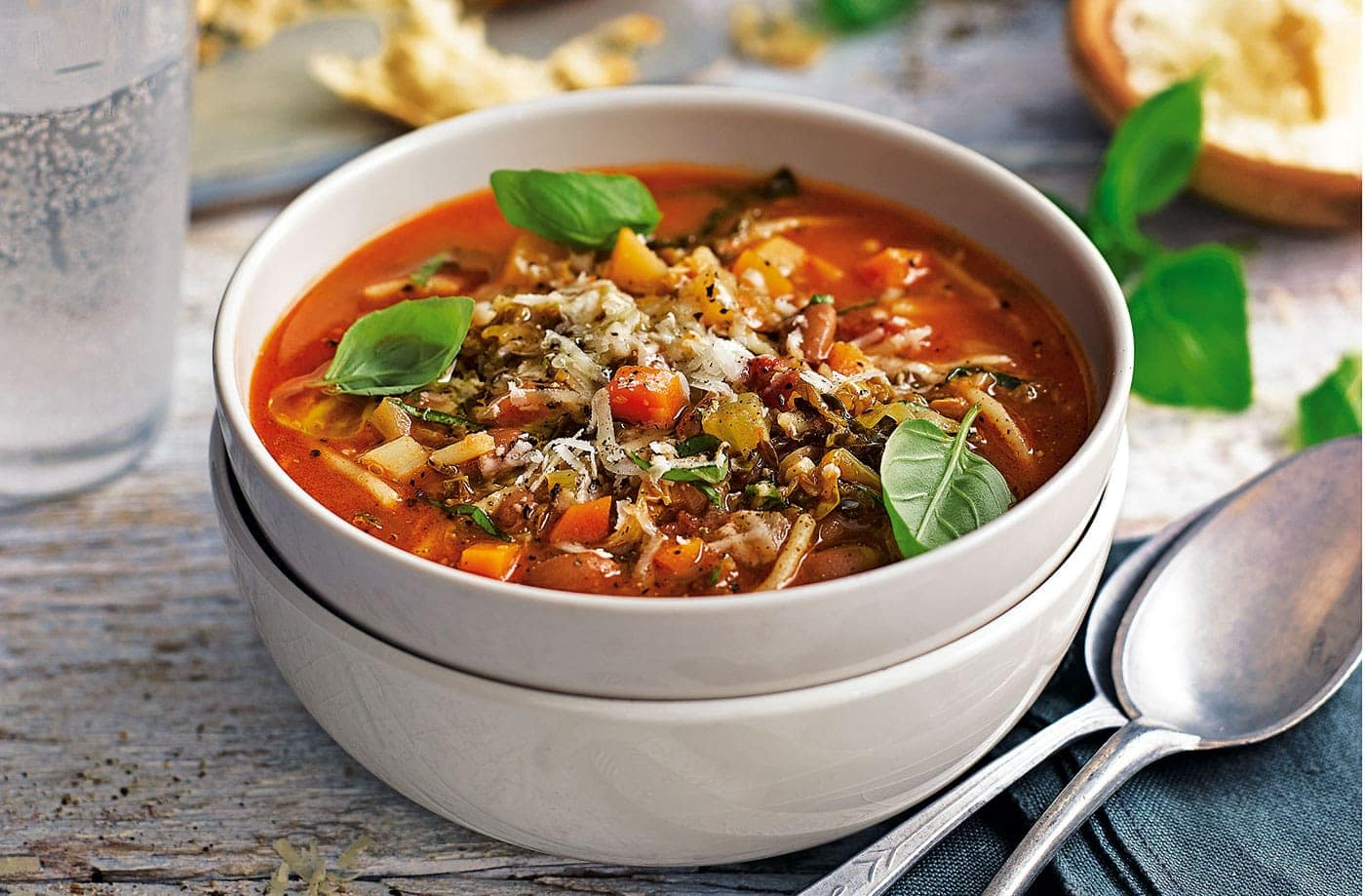The authentic Italian Minestrone soup recipe is a something worth tasting.