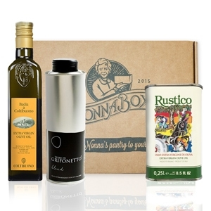 Olive Oil Sampler Box