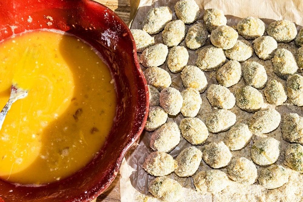 homemade Ascolana Olives