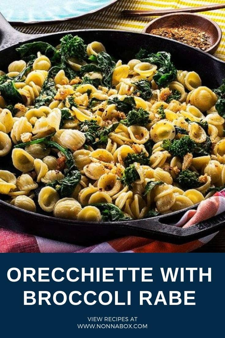 Orecchiette with Broccoli Rabe (Orecchiette with Rapini)