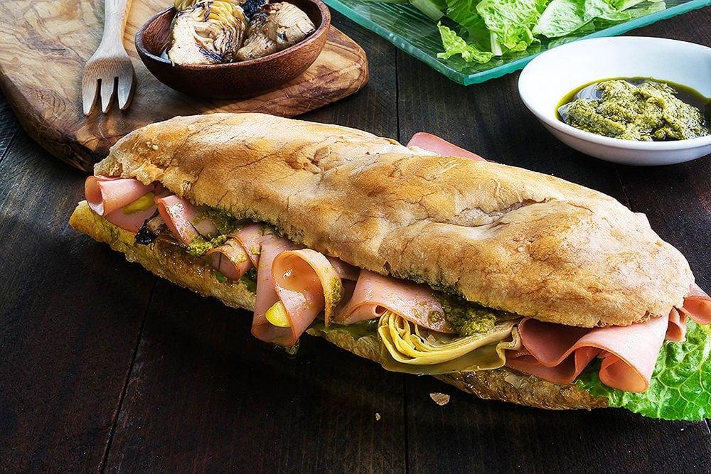 Panino-Italiano talian Sandwich Panino Recipe