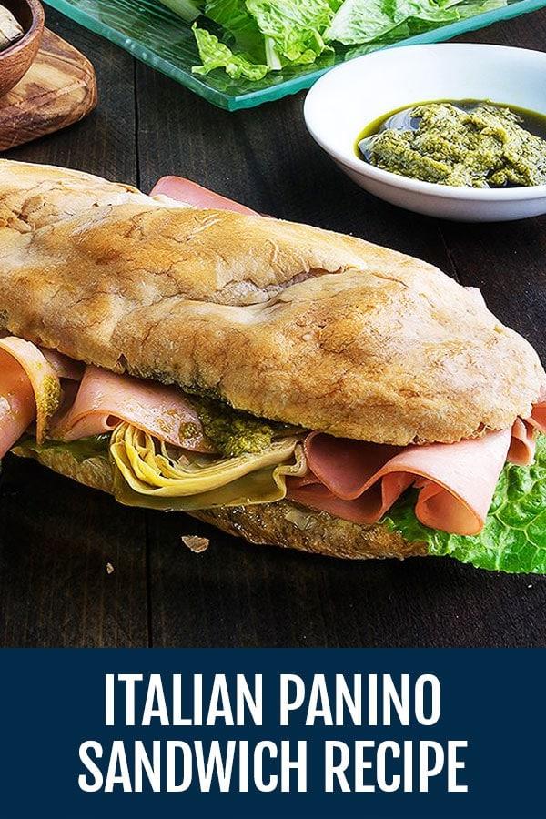 Panino Italiano – Italian Sandwich Panino Recipe
