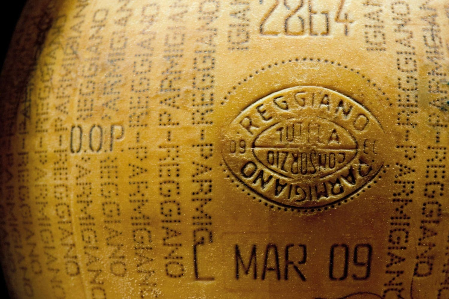 Original Parmigiano Reggiano Stamped Rind - What is Parmigiano Reggiano