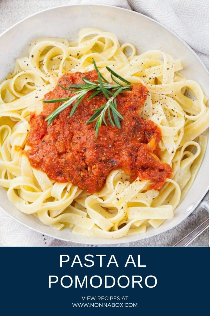 Authentic Pasta Al Pomodoro Recipe