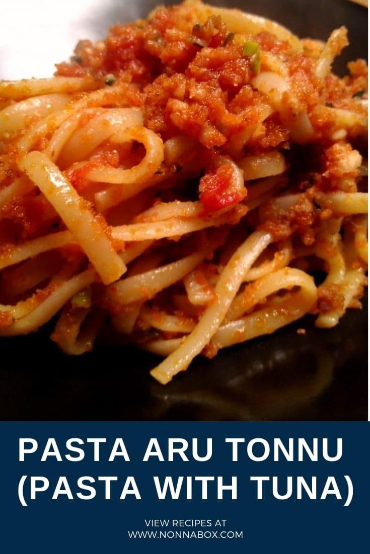 Simple and Delicious Pasta aru Tonnu (Pasta with Tuna) Recipe