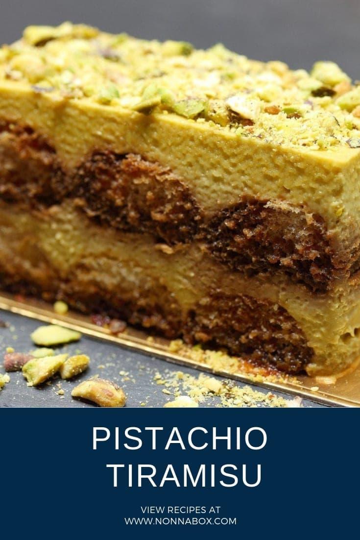 Pistachio Tiramisu Recipe