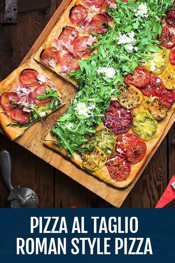 Pizza al Taglio Recipe – Roman Style Pizza by the slice recipe