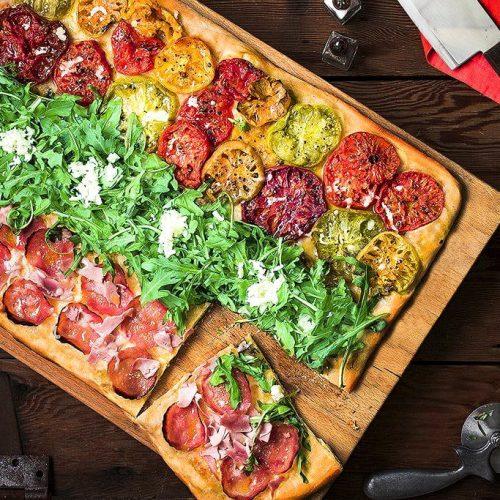 Pizza al taglio recipe Roman style pizza