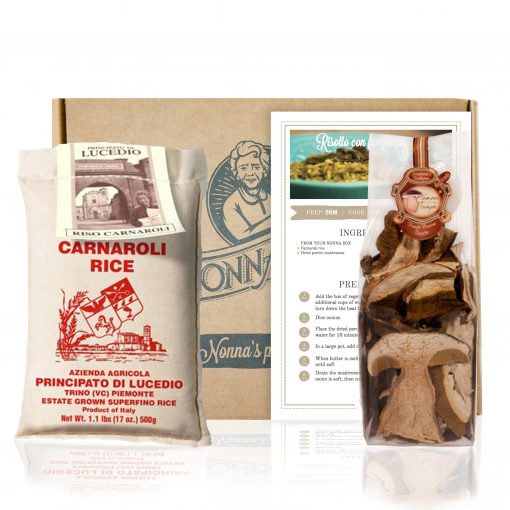 Porcini Mushrooms Risotto Recipe Box