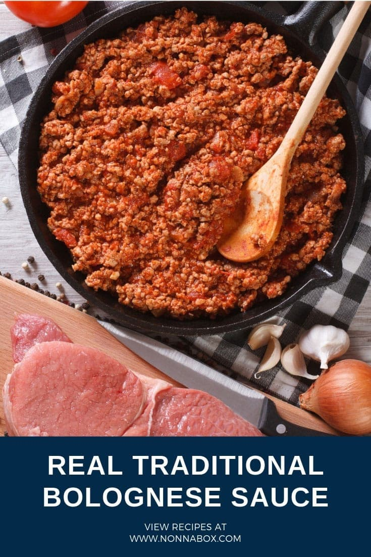 Traditional Authentic Ragù alla Bolognese – Meat Bolognese Sauce