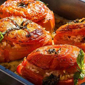 Rice Stuffed Tomatoes Recipe