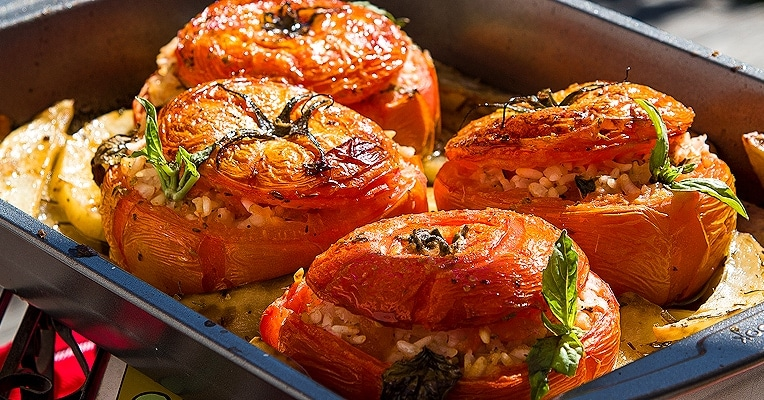 Rice Stuffed Tomatoes Recipe