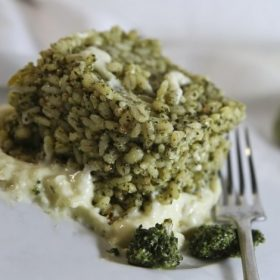 Risotto with Kale Pesto recipe