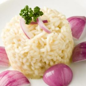 risotto with onions recipe