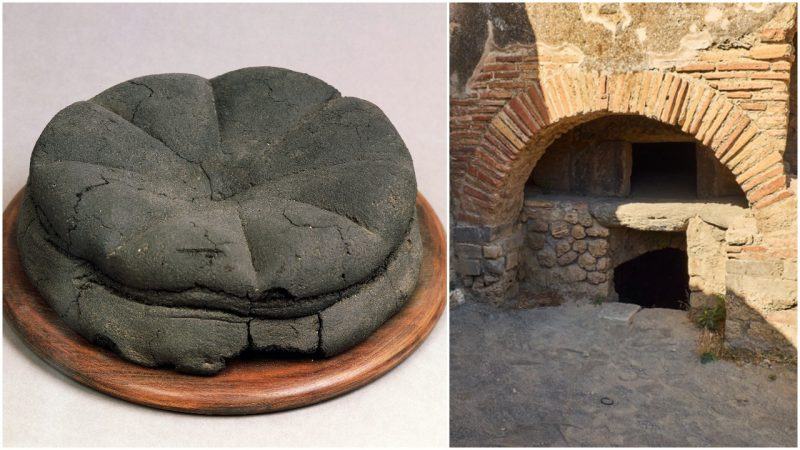 Bread in Roman times