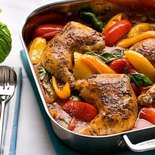 Roman Chicken - Pollo alla Romana