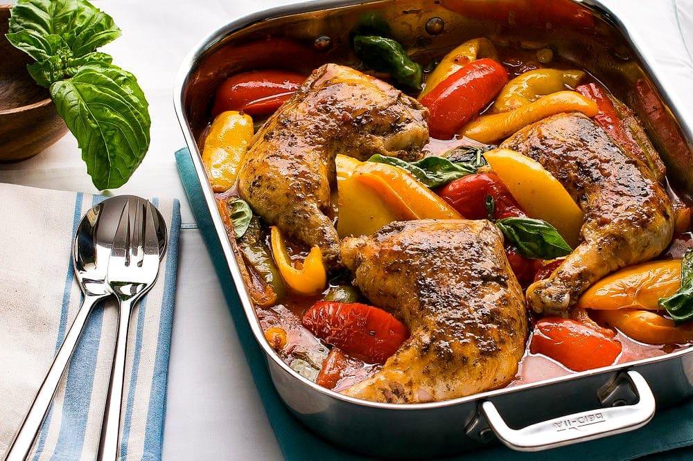 Roman Chicken Pollo alla Romana