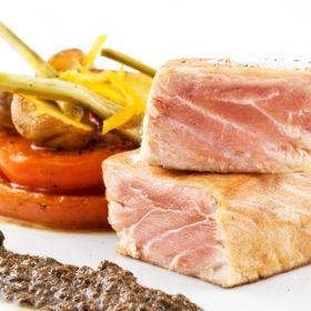 Sicilian Marinated Tuna steak recipe