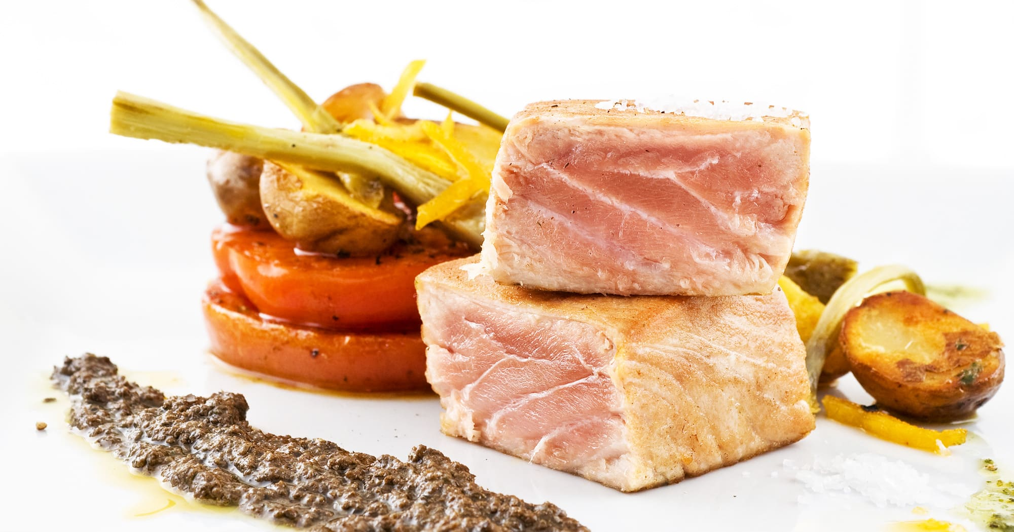 Sicilian Marinated Tuna steak recipe