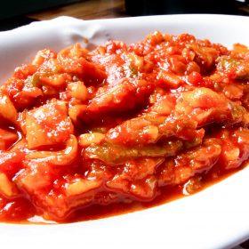 Sicilian peperonata recipe