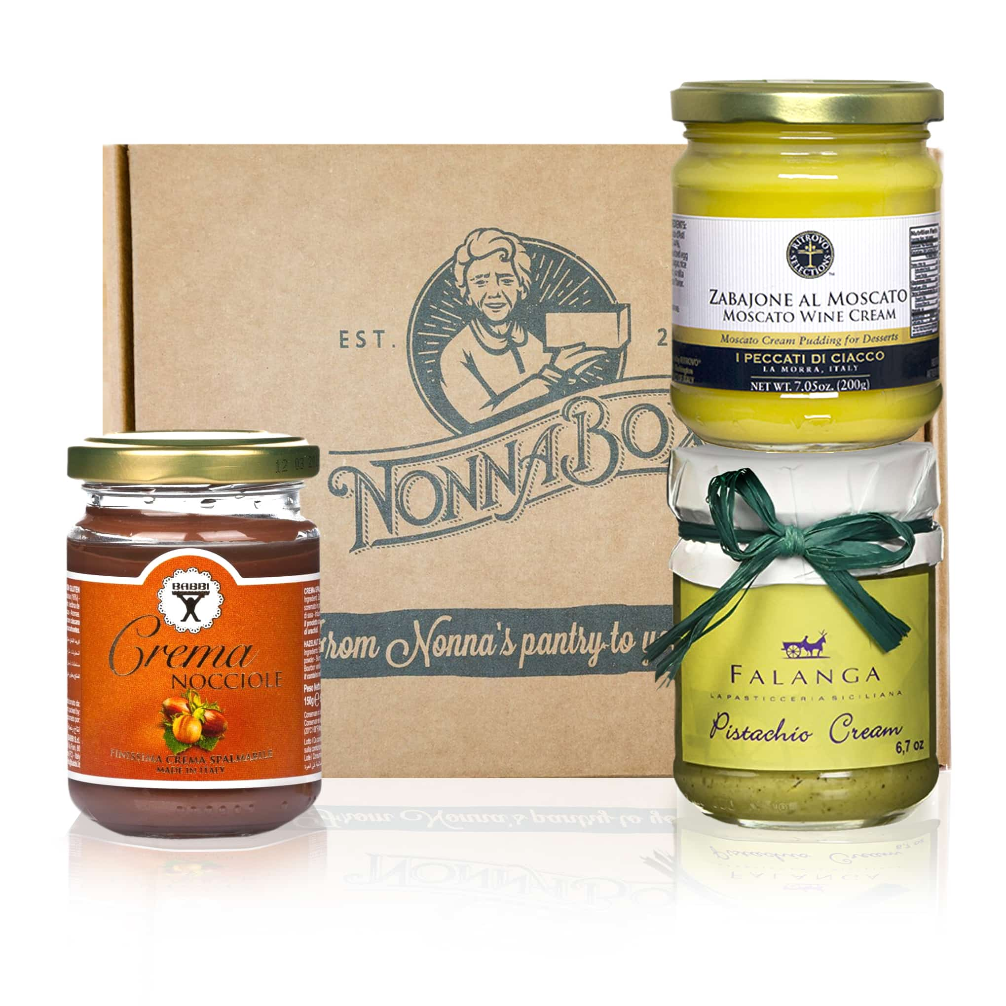 Italian sweet spreads gift set