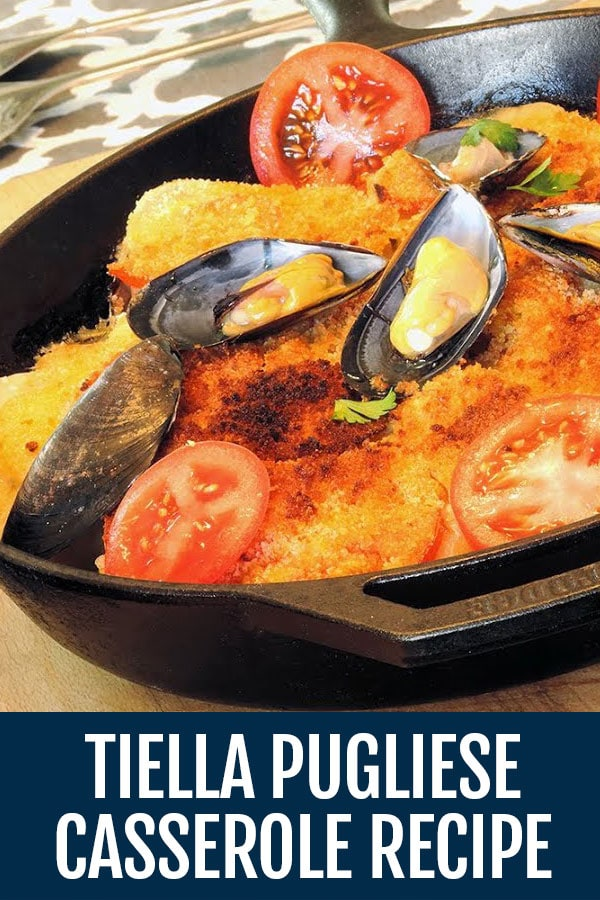 Tiella Recipe (Rice, Potatoes, and Mussels Casserole) – Tiella Pugliese | Riso Patate e Cozze