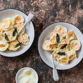 Tortelli di Zucca Pumpkin tortelli ravioli recipe