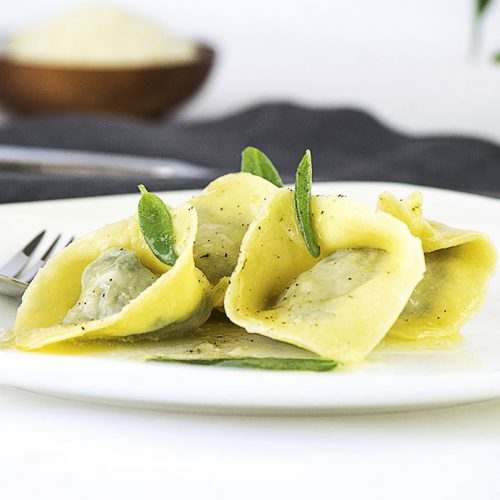 Tortelloni With Ricotta and Spinach Recipe