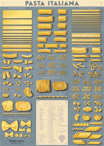 pasta italiana decorative wrap