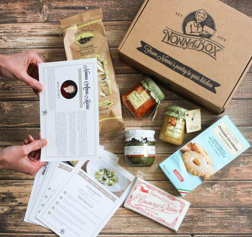 Liguria Recipes Box