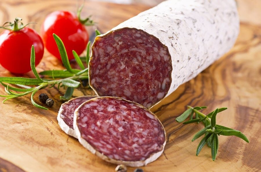 What is salami made of is interesting.