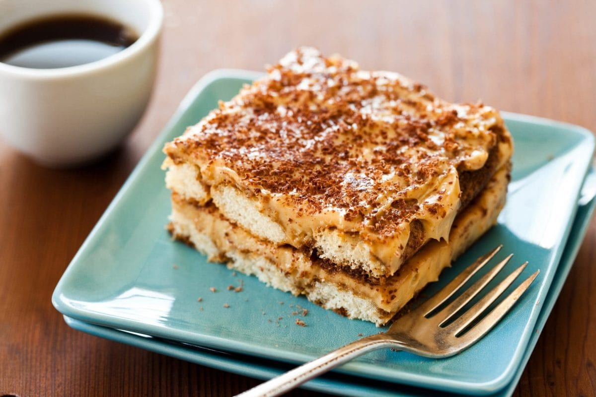 An authentic Italian Tiramisu recipe with biscoff.