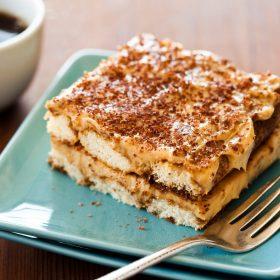 An authentic Italian Tiramisu recipe with biscoff.