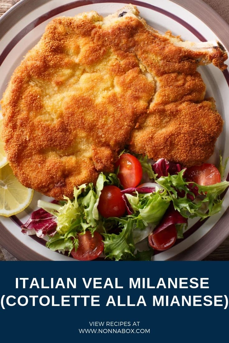 Authentic Italian Veal Milanese Recipe (Cotolette alla Mianese)