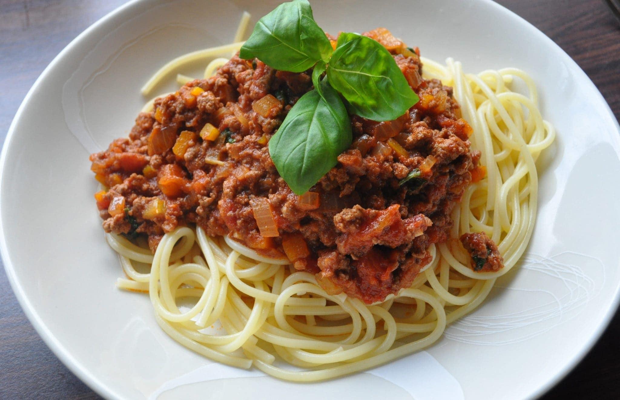 Homemade Italian spaghetti sauce is for the whole family.