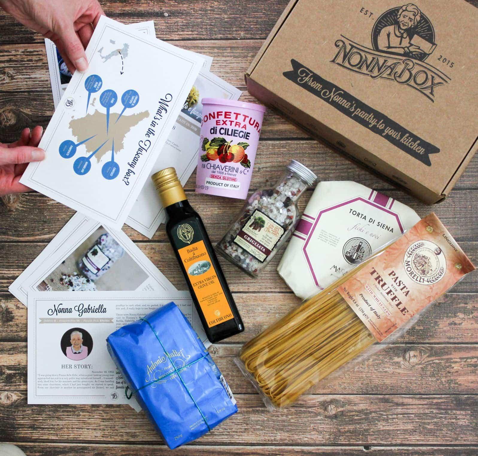 Italian Gift Box Tuscany