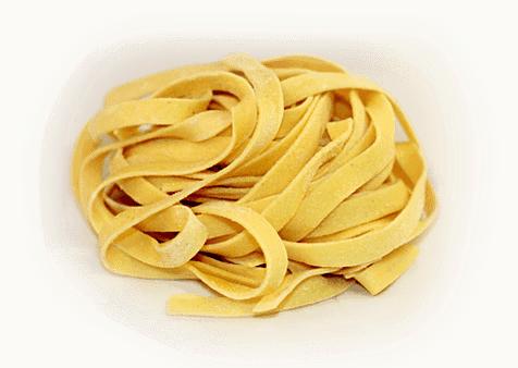 Fettuccine tipos de pasta
